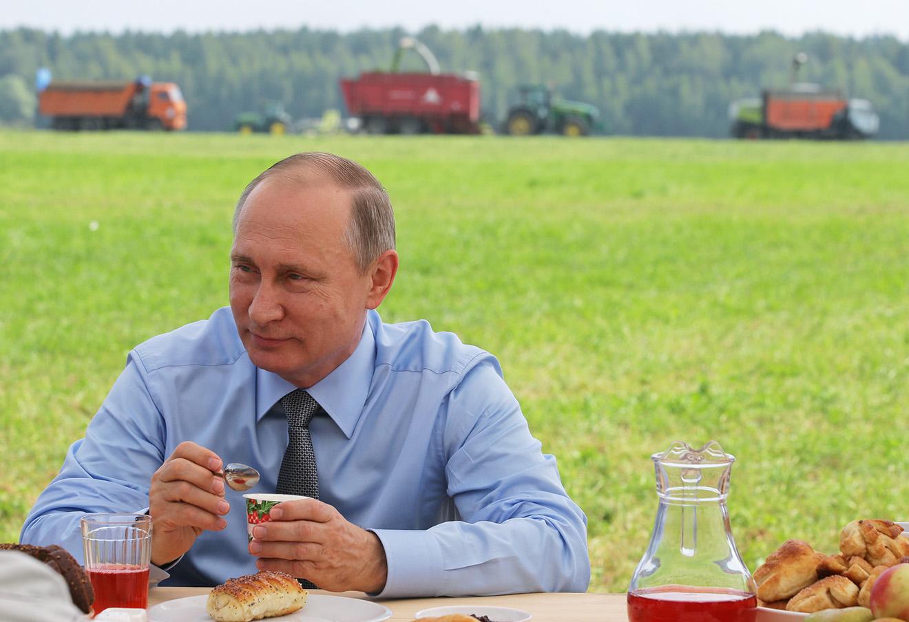 Владимир Путин, 28 июля 2016 года.