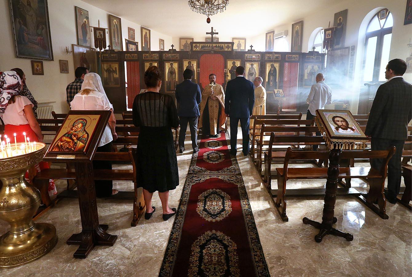 Православная церковь в Дамаске.
