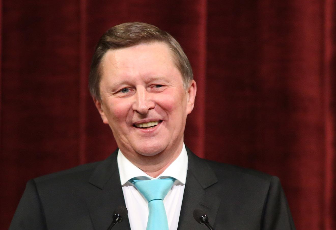 Сергей Иванов. Фото: Петр Ковалев / ТАСС