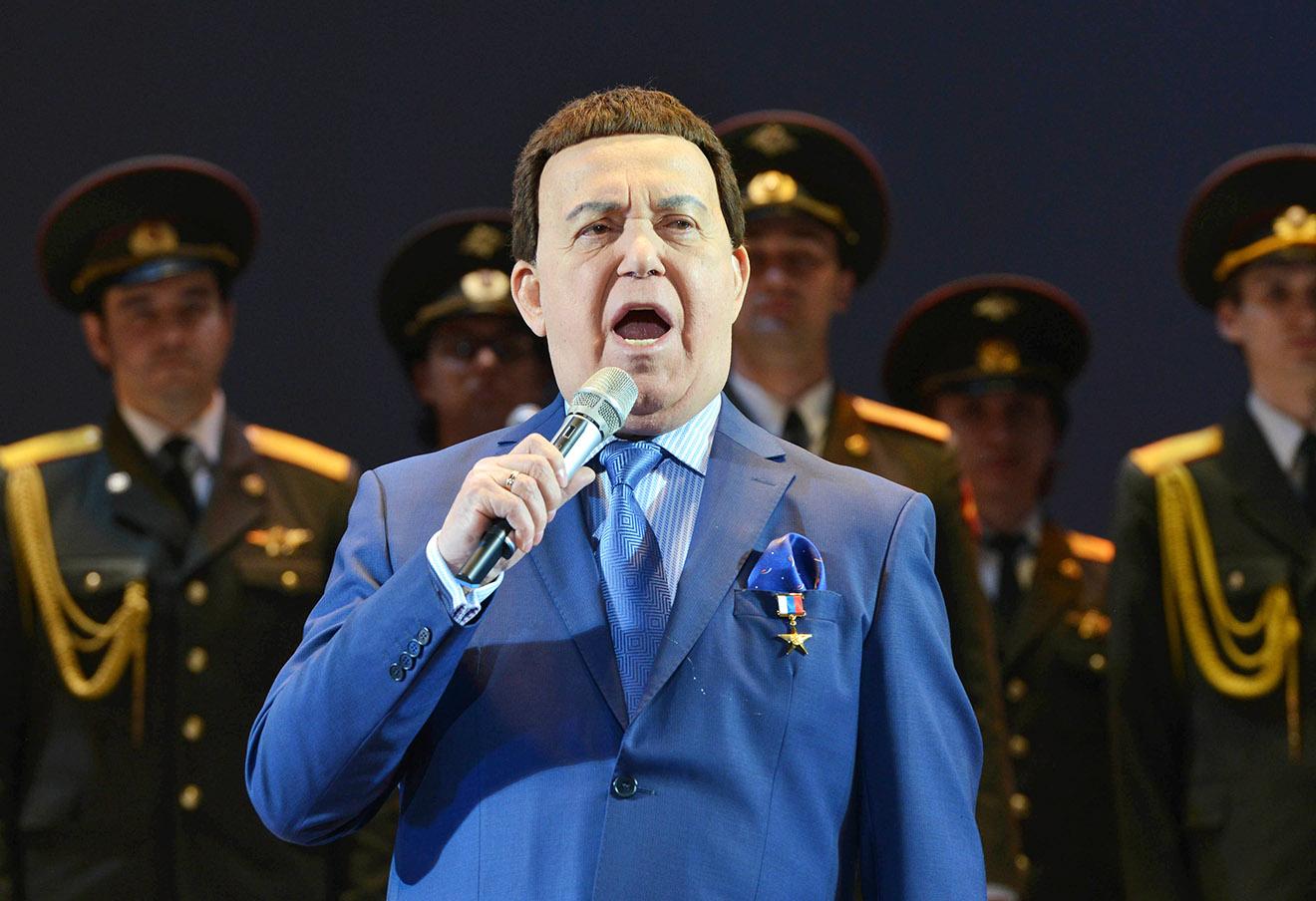 Иосиф Кобзон. Фото: Сергей Бертов / Интерпресс / ТАСС