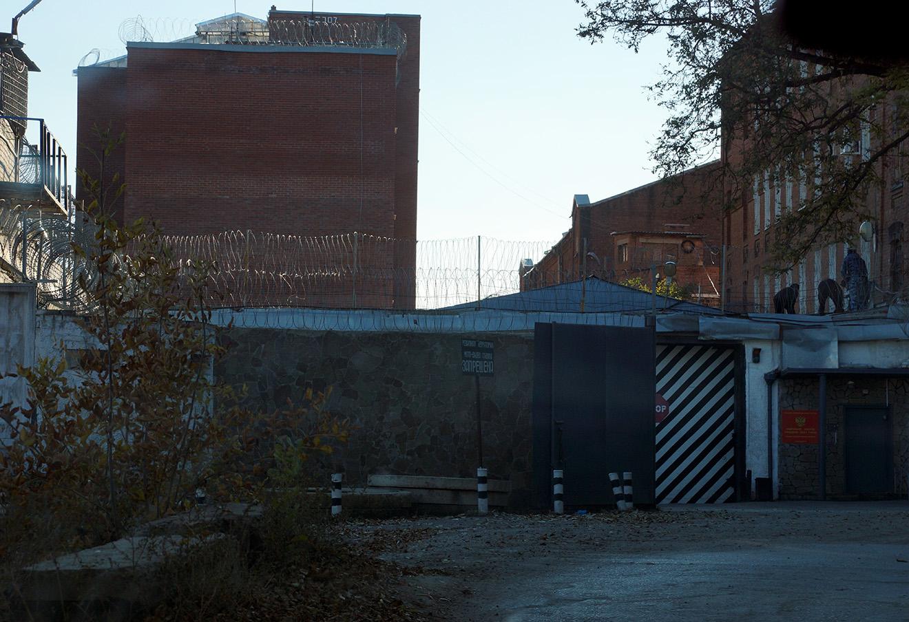 СИЗО-3 в Новочеркасске, где содержится Надежда Савченко.