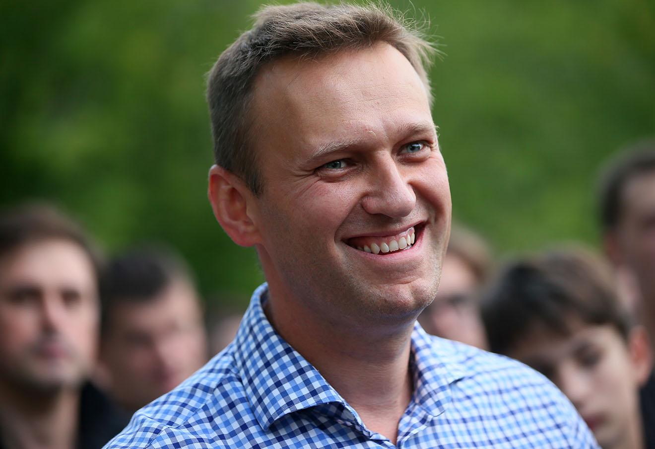 Алексей Навальный на митинге против «пакета Яровой» в Москве. Фото: Дмитрий Серебряков / ТАСС