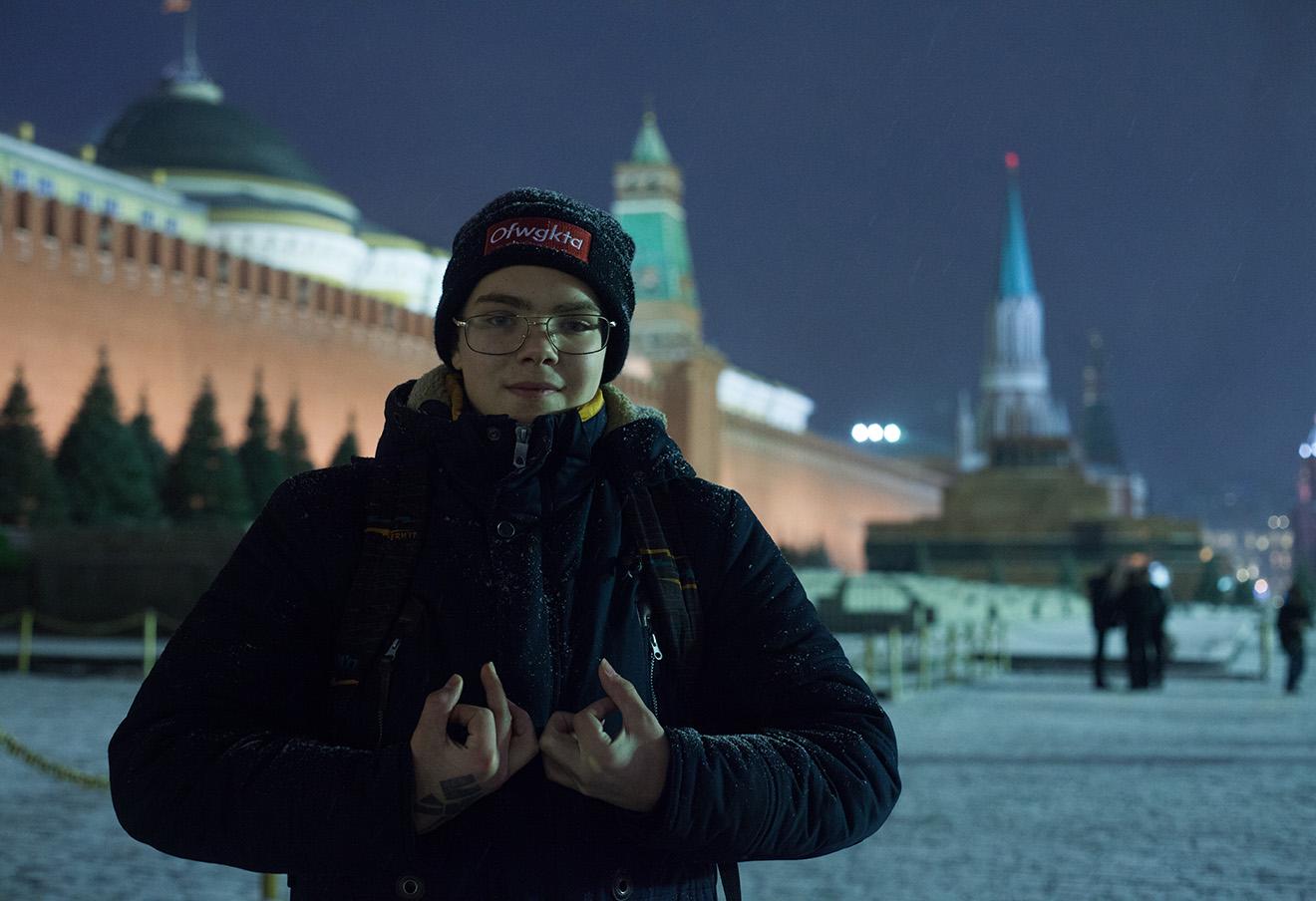 Глеб Астафьев в Москве.