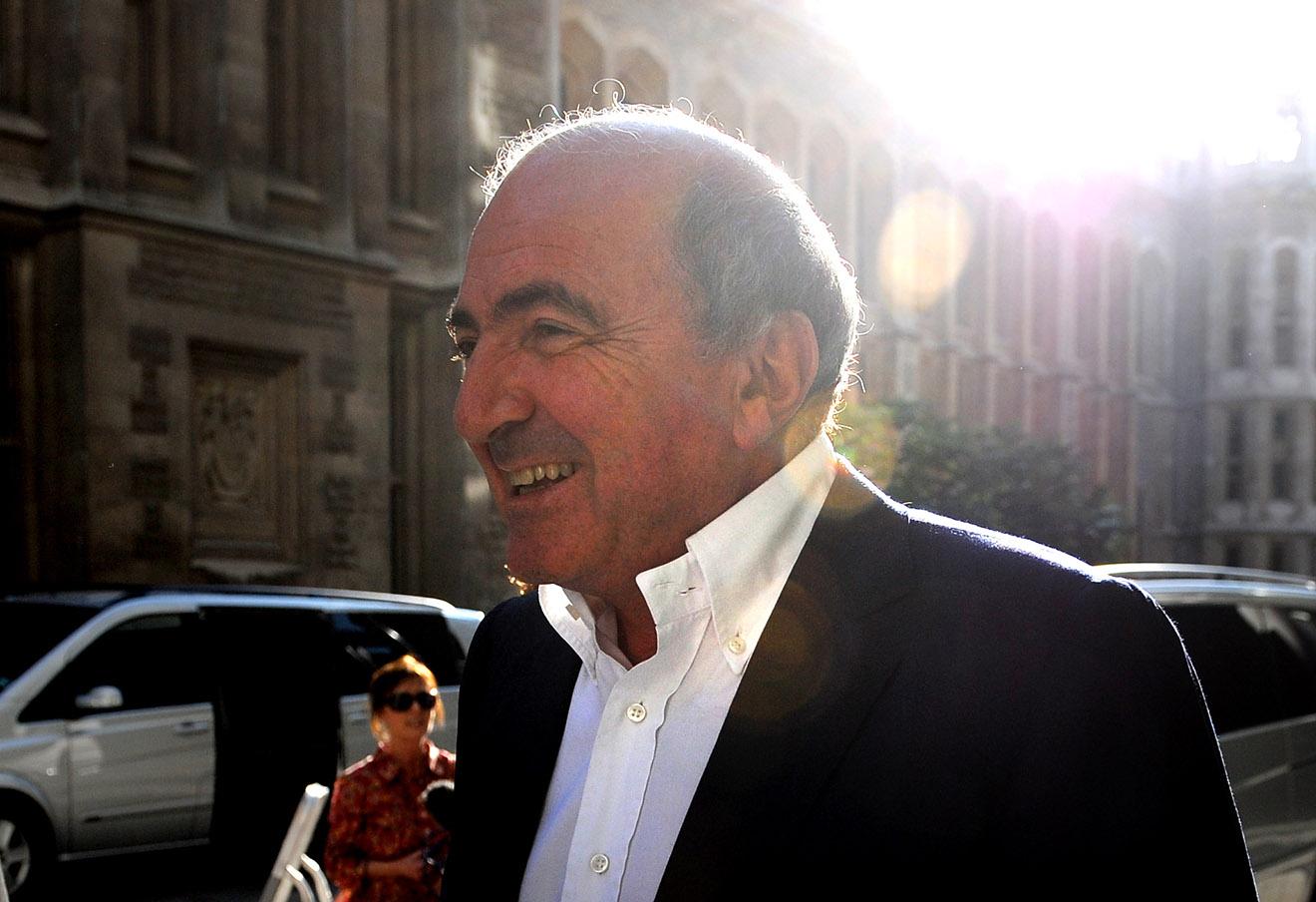 Борис Березовский, 2011 год.