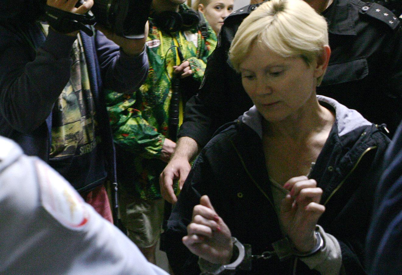 Елена Решетова в Петрозаводском городском суде.