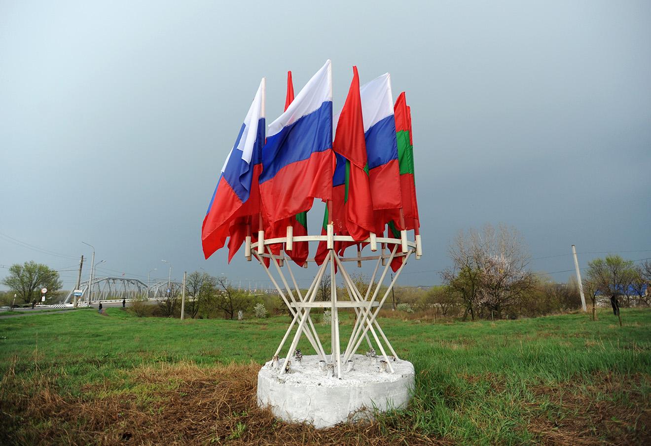 Миротворческий пост в Бендерах. Фото: Сергей Карпов / ТАСС