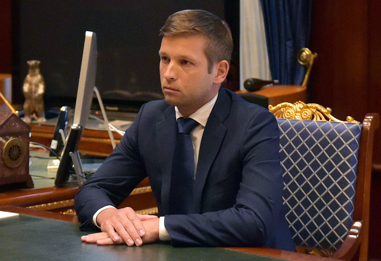 Глава Росимущества Дмитрий Пристансков. Фото: Александр Астафьев / ТАСС