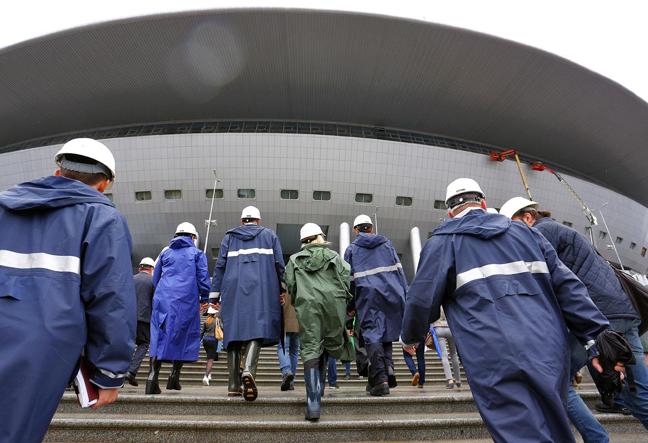 «Зенит-Арена». Фото: Петр Ковалев / ТАСС