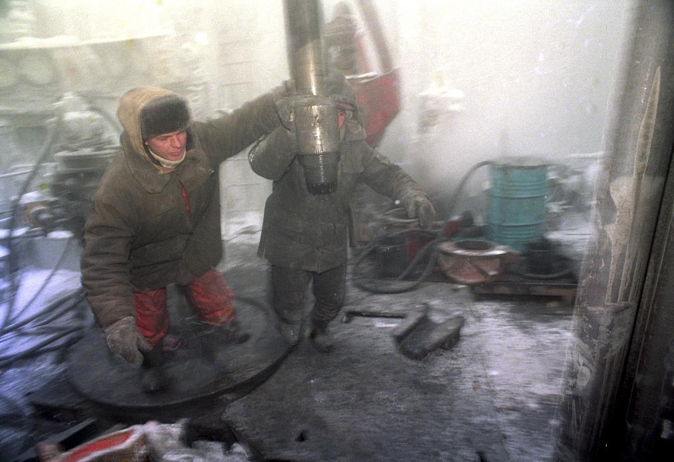 Газовое месторождение «Заполярное» в Тюменской области. Фото: Владимир Гурин / ТАСС
