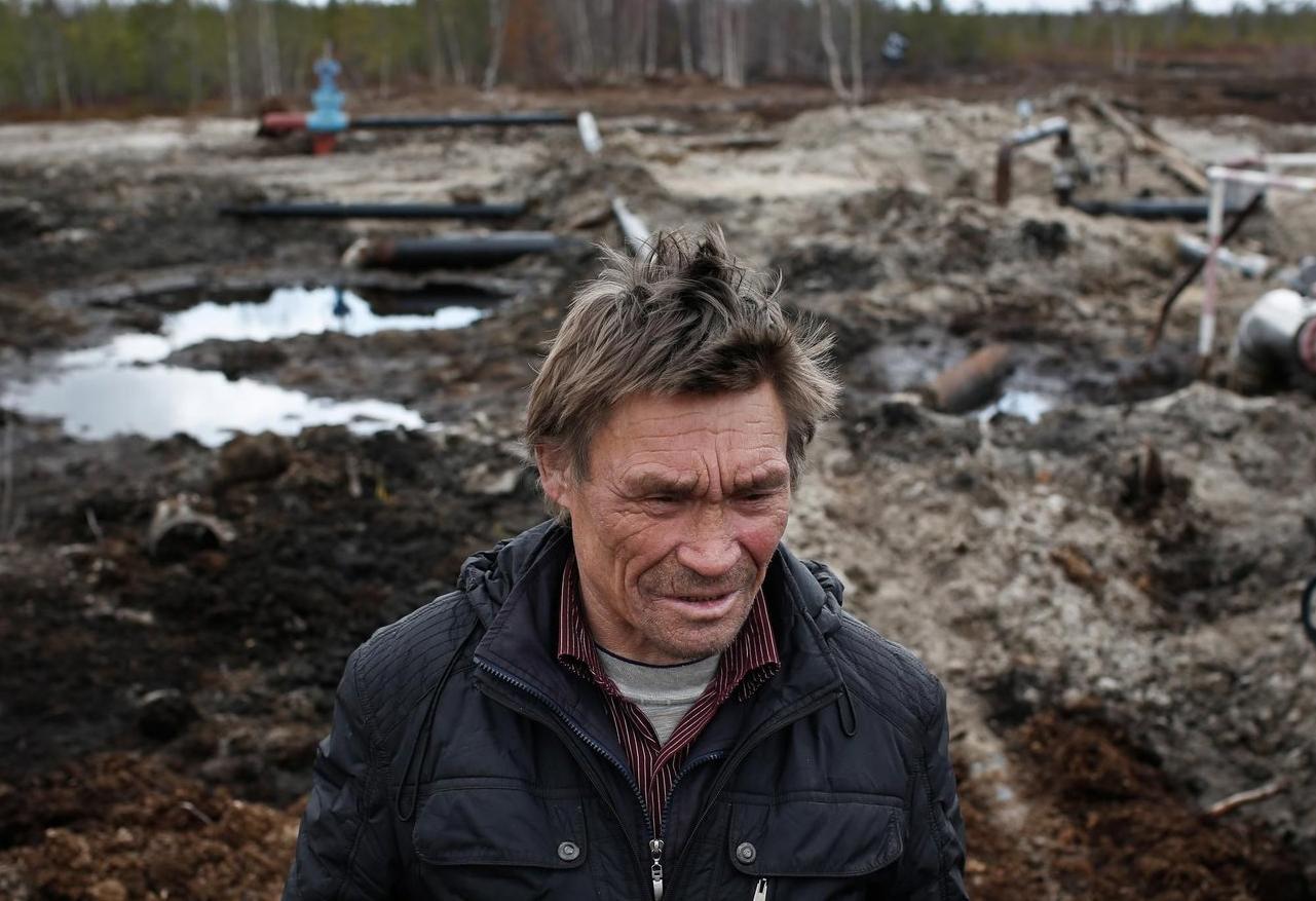 Сергей Кечимов. Фото: Денис Синяков / Greenpeace
