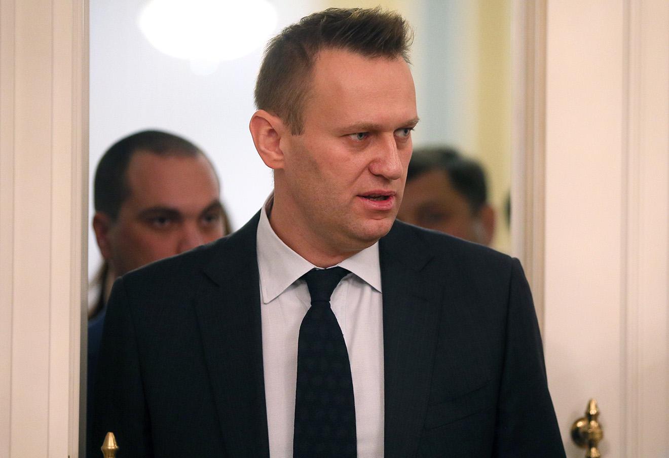 Алексей Навальный на пересмотре дела по «Кировлесу» в Верховном суде РФ. Фото: Дмитрий Серебряков / ТАСС