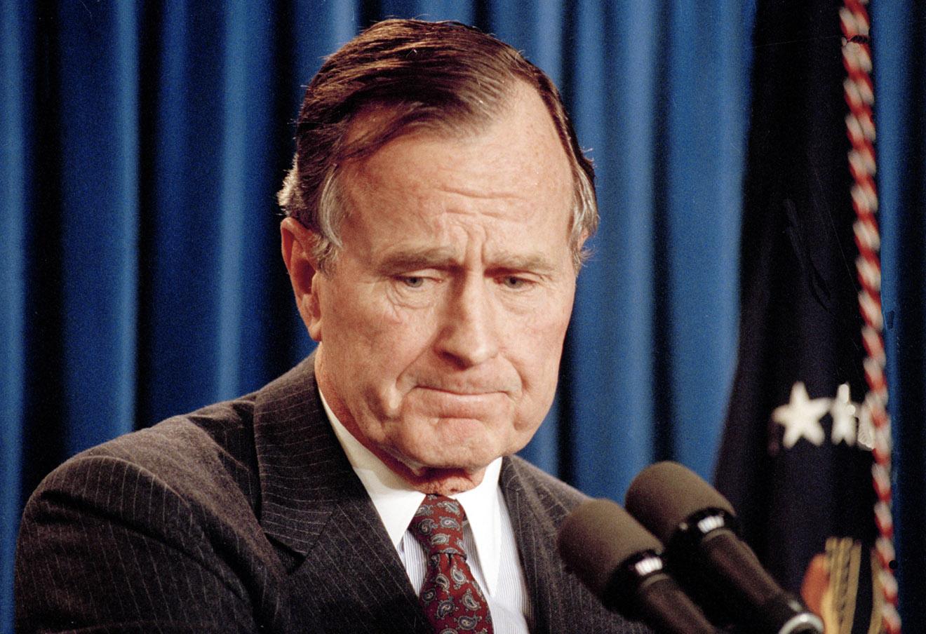 Джордж Буш-старший, 1991 год. Фото: Marcy Nighswander / AP