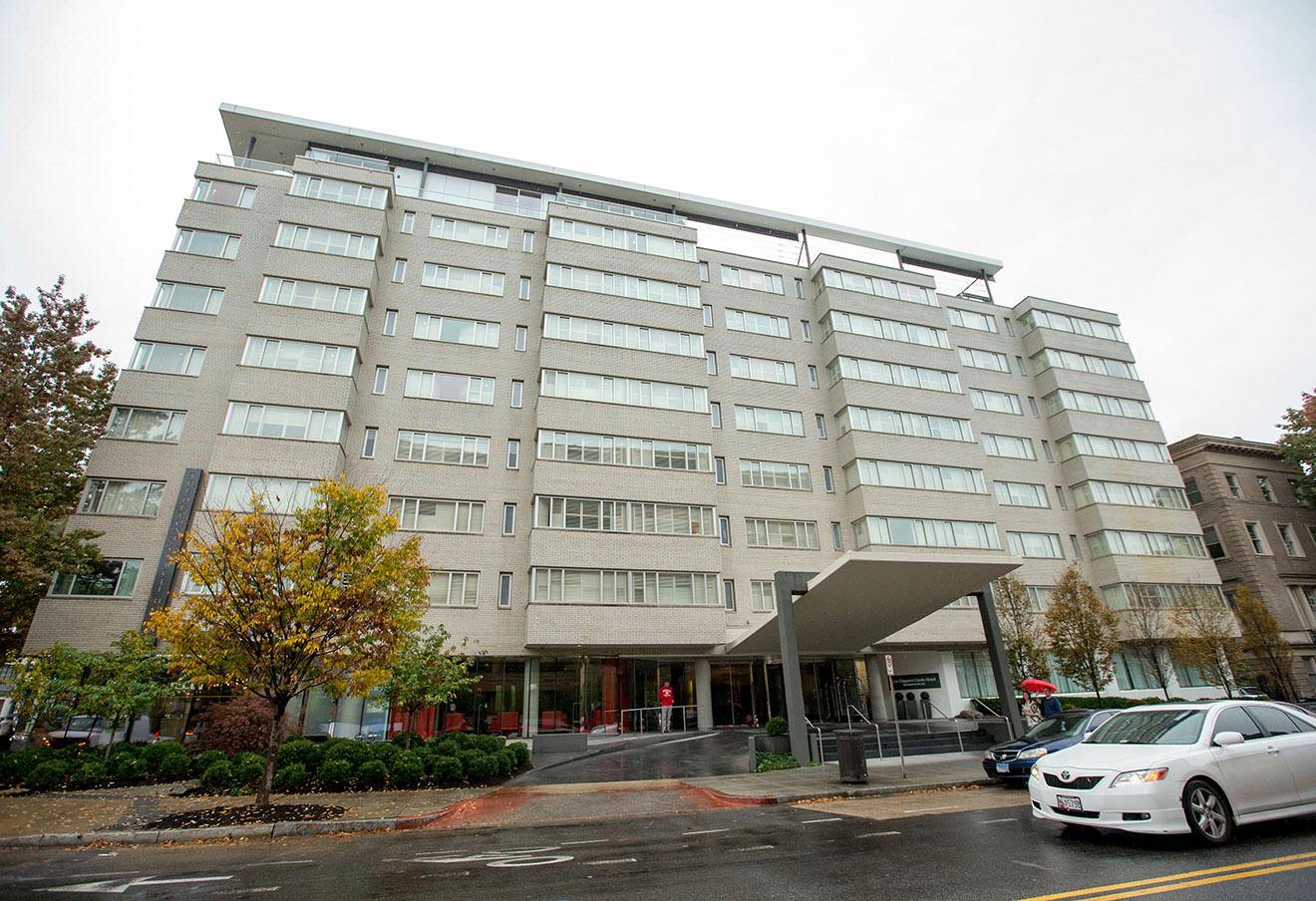 Отель Dupont Circle в Вашингтоне, в котором нашли тело Михаила Лесина.