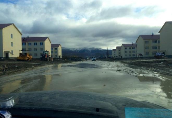 Село Дальнее со сданными домами до того, как в нем построили дороги. Фото: Любовь Барабашова
