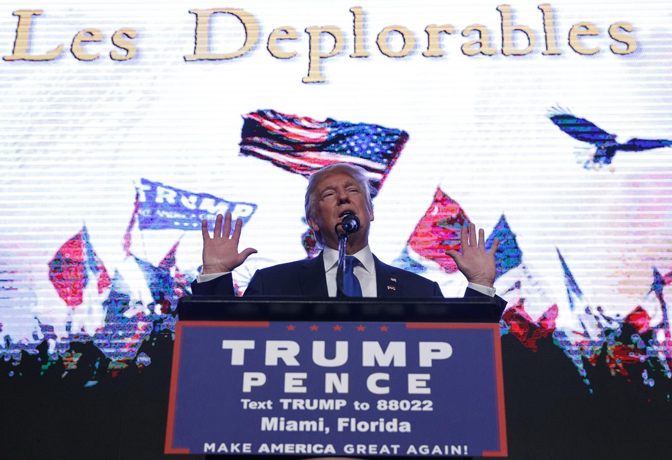 Дональд Трамп. Фото: Evan Vucci / AP