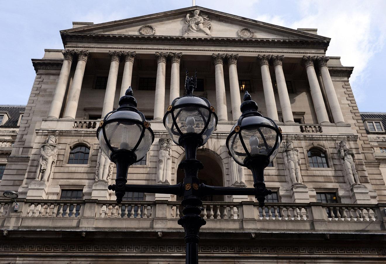 Банк Англии в Лондоне.