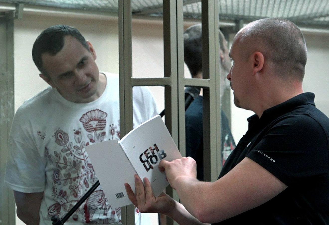 Олег Сенцов и Дмитрий Динзе.