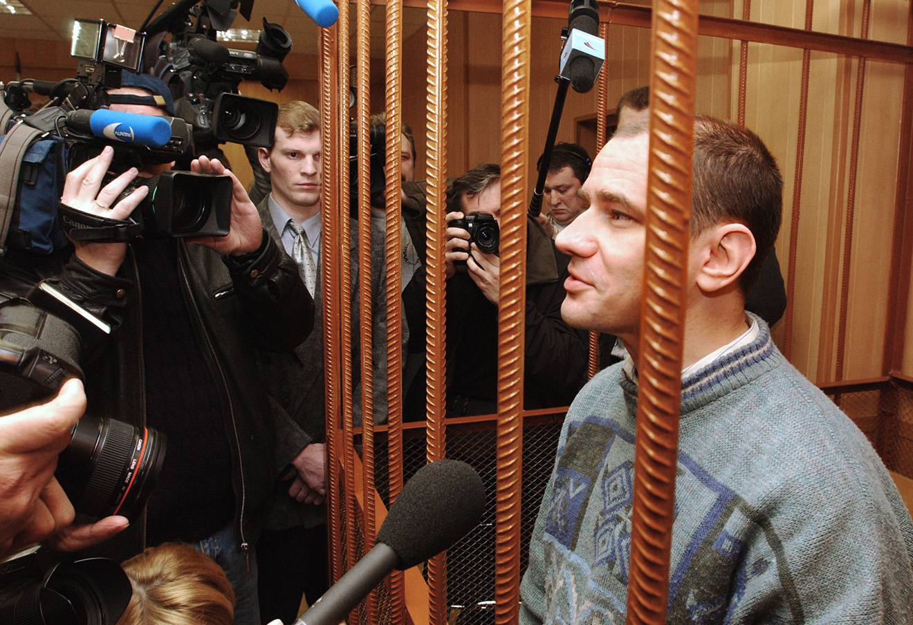Игорь Сутягин, 2004 год.