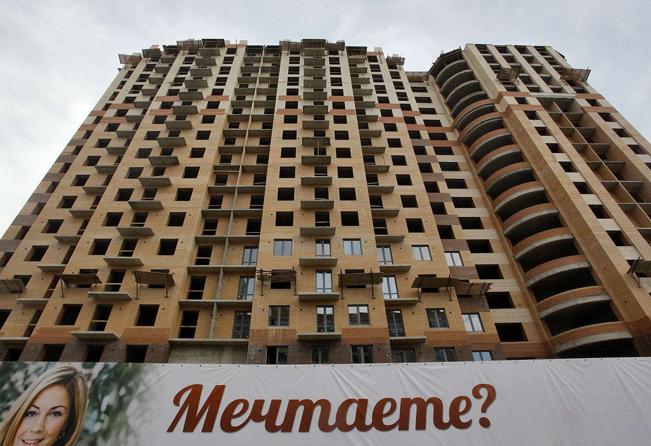 Жилищное строительство в Ленинградской области. Фото: Светлана Холявчук / ТАСС
