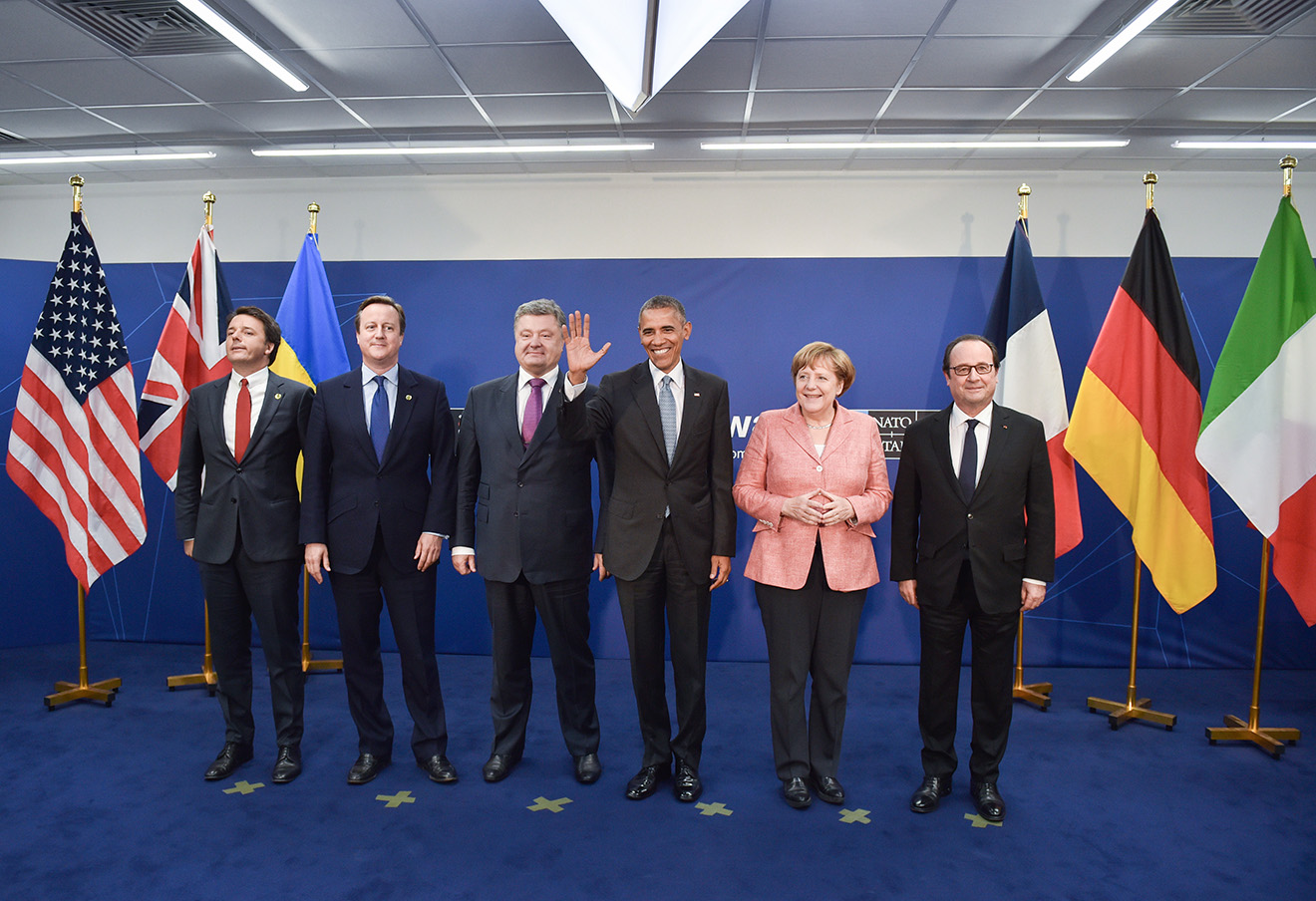 Саммит глав государств и правительств стран НАТО в Варшаве, 9 июля 2016. Фото: Николай Лазаренко / ТАСС