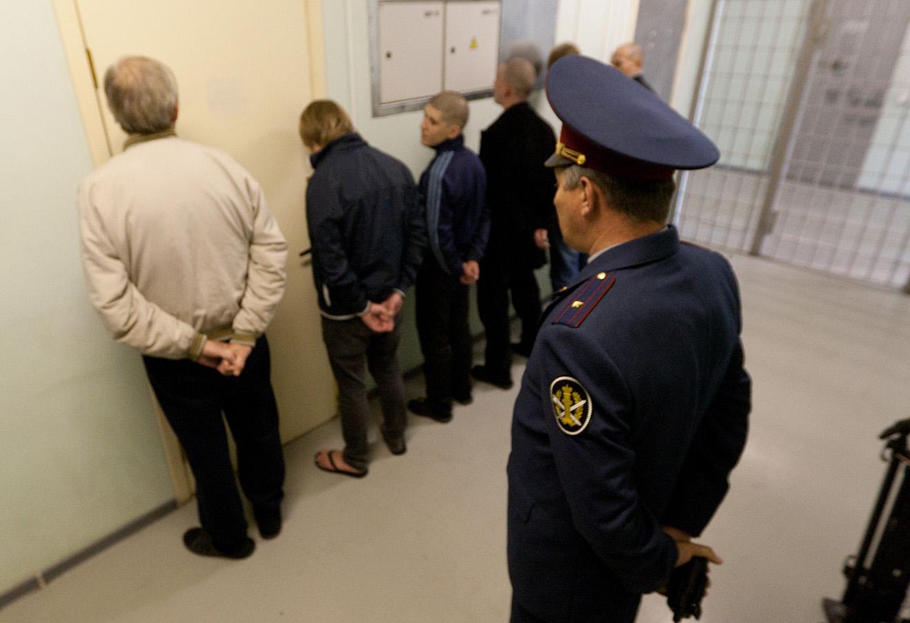 Заключенные московского СИЗО №4, 2010 год.