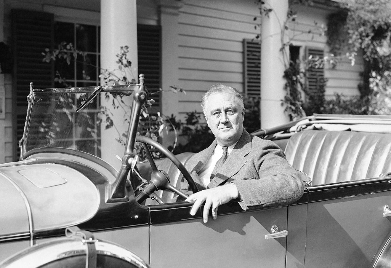 Франклин Рузвельт. Фото: AP