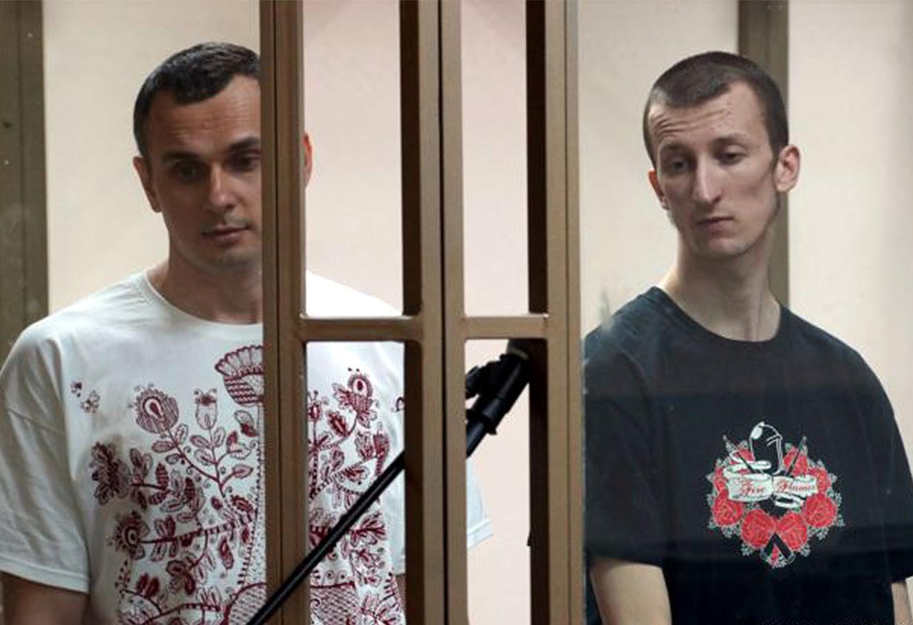 Олег Сенцов и Александр Кольченко.