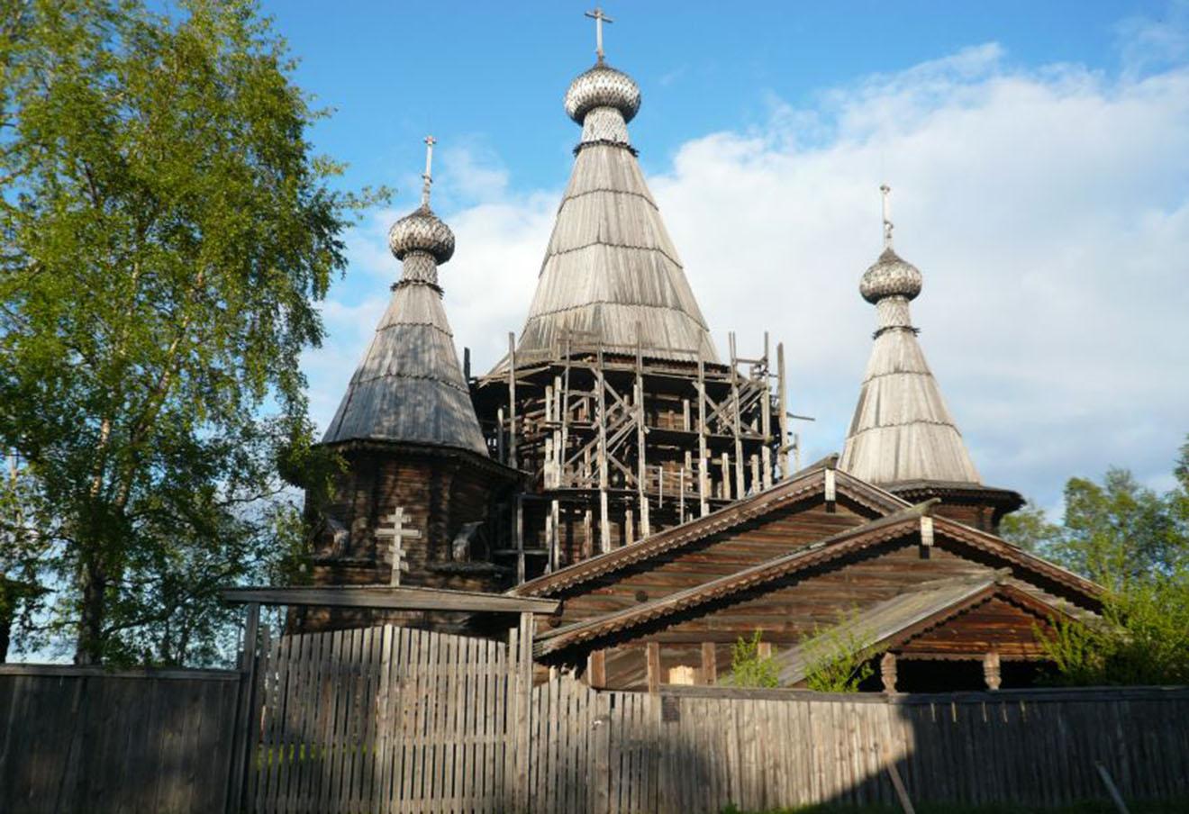 Собор Успения в Кеми. Фото: Алексей Полудницын / sobory.ru