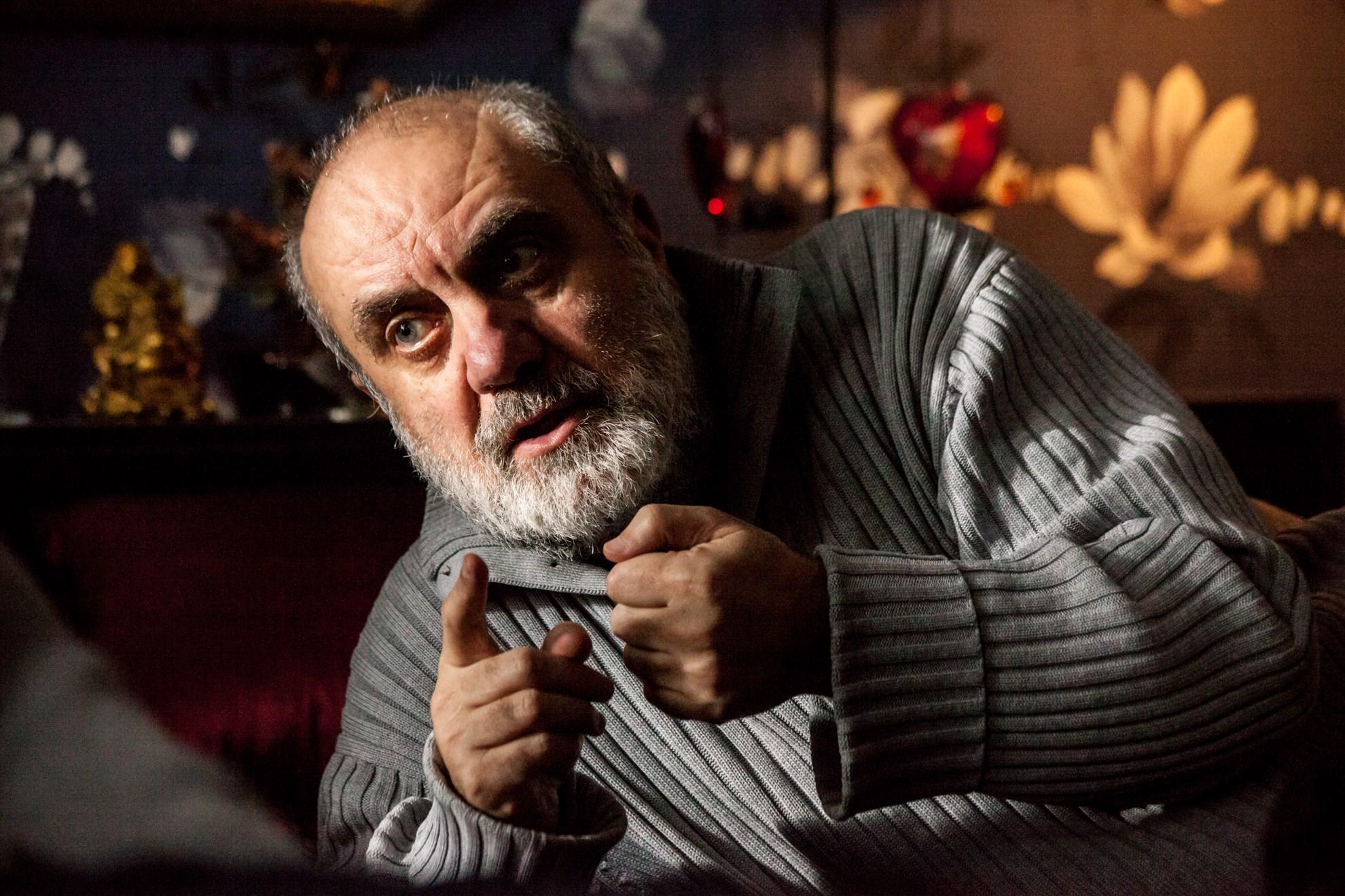 Владимир Мирзоев на съемках фильма «Ее звали Муму».