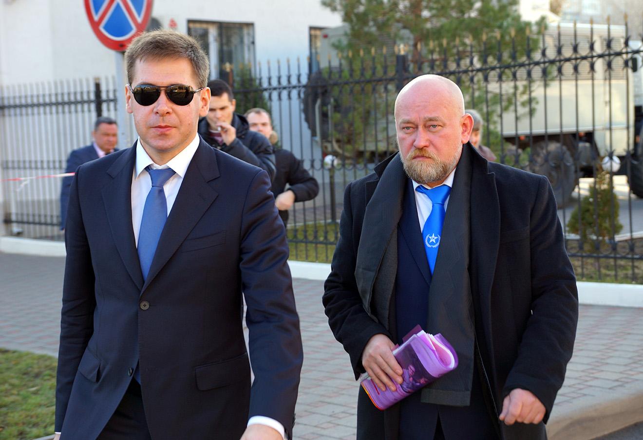 Илья Новиков и Владимир Рубан.