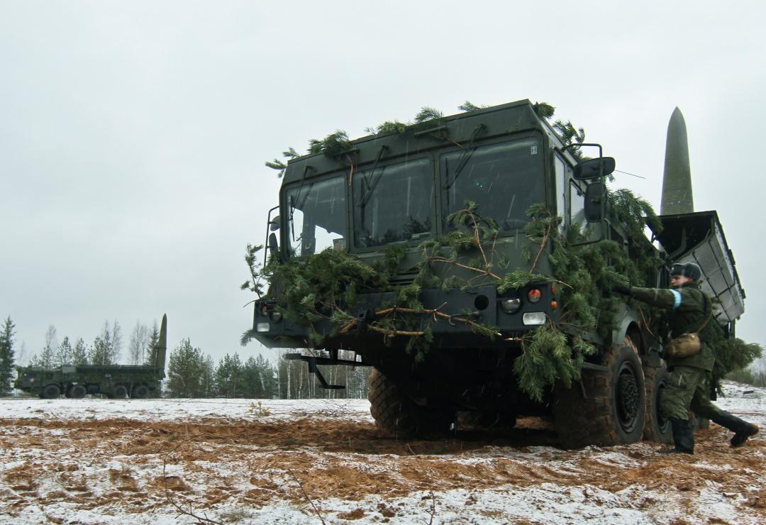 Ракетные комплексы «Искандер-М». Фото: пресс-служба ЗВО