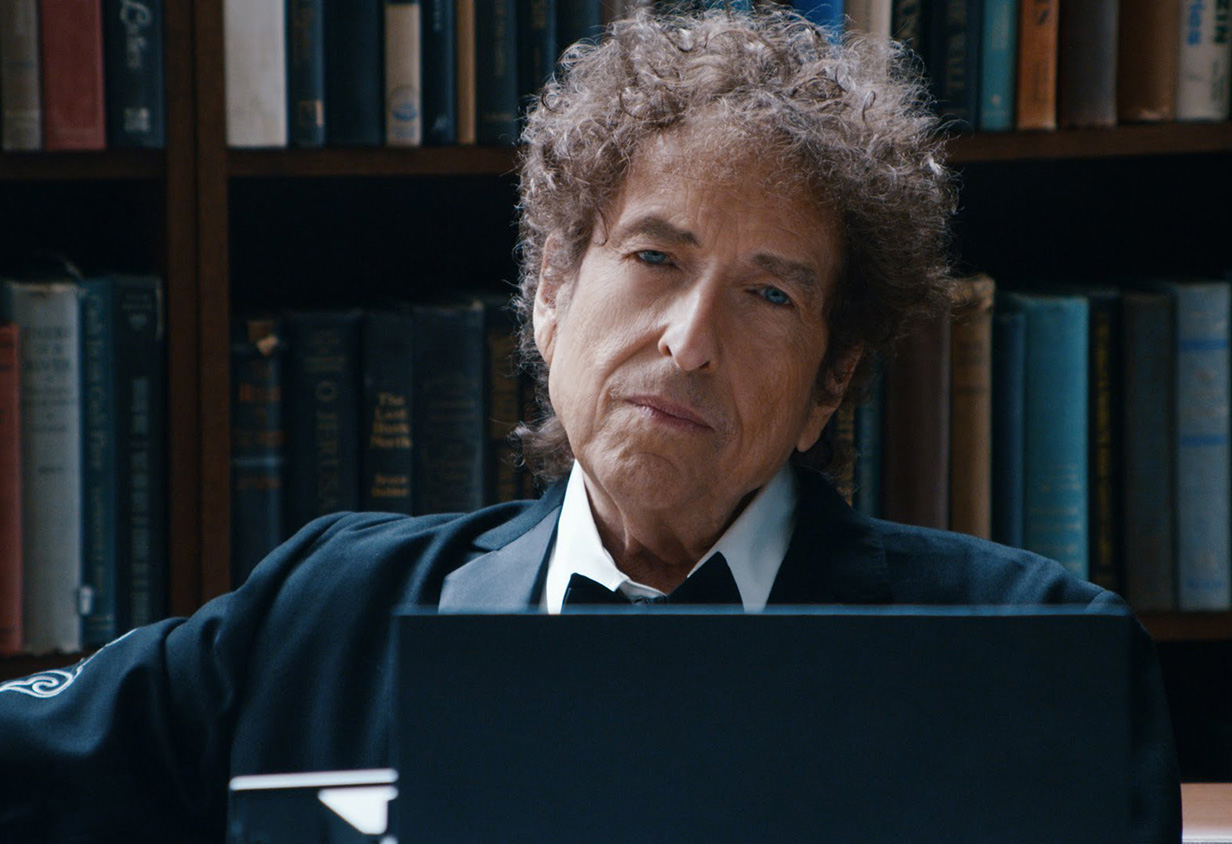 Боб Дилан. Кадр: источник themill.com