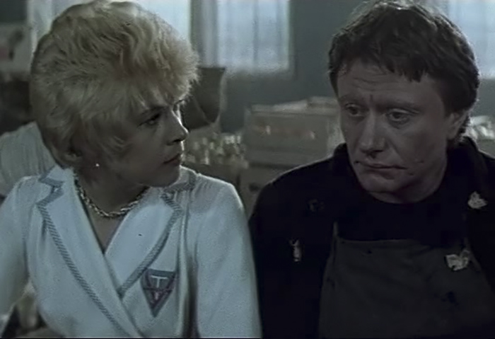 Кадр из фильма «Блондинка за углом»