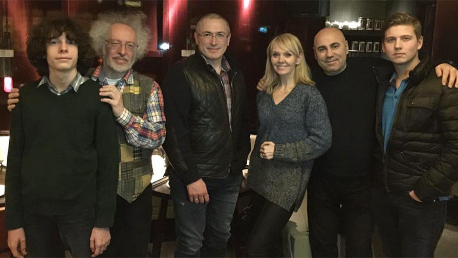 Михаил Ходорковский и певица Валерия