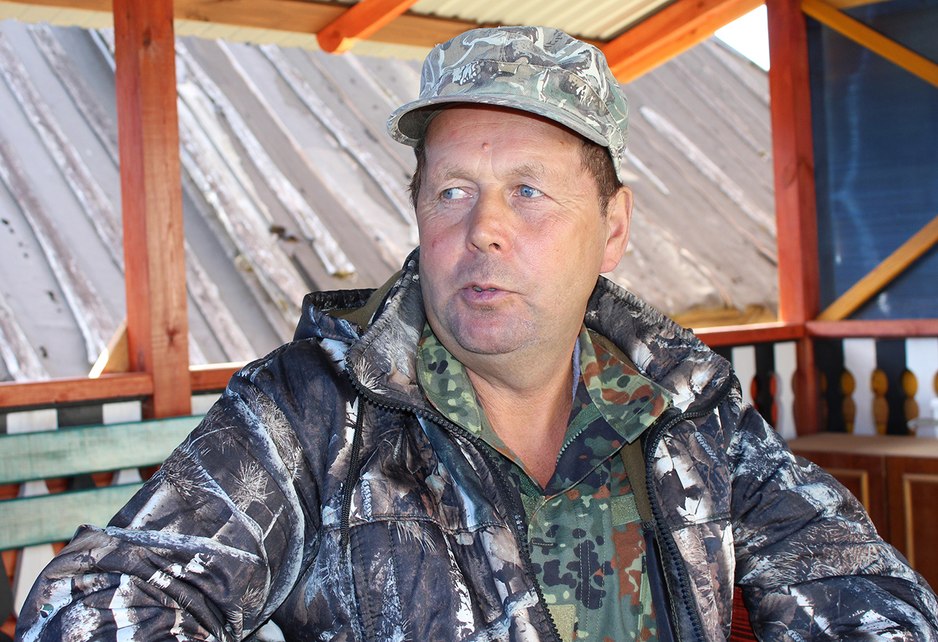 Староста деревни Василий Зайцев. Фото: 7x7-journal.ru