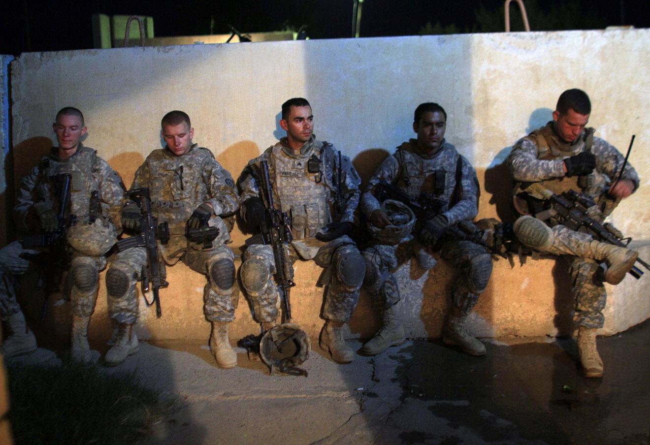 Американские военные в Ираке, 2010 год.