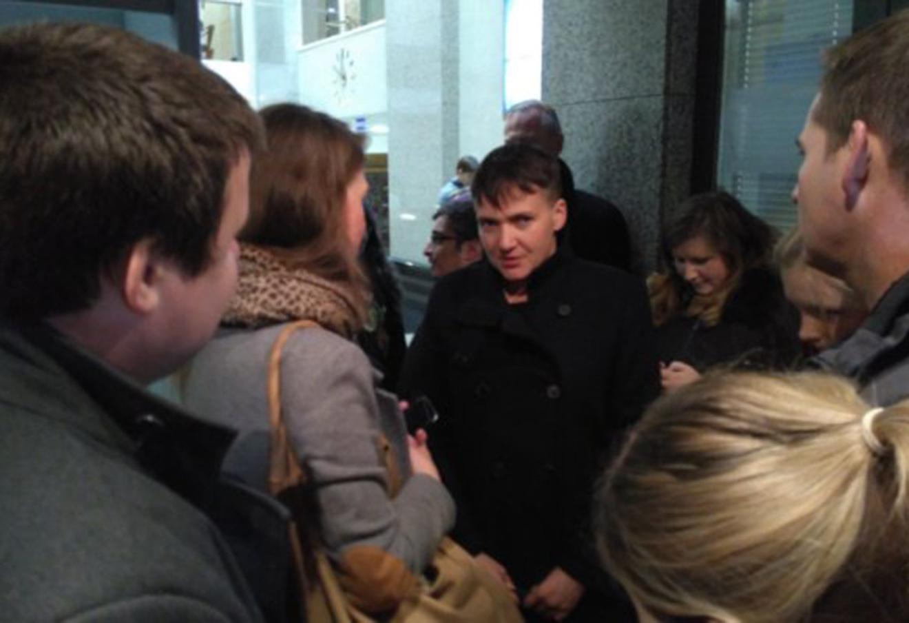 Надежда Савченко в Верховном суде. Фото: @govoritmsk