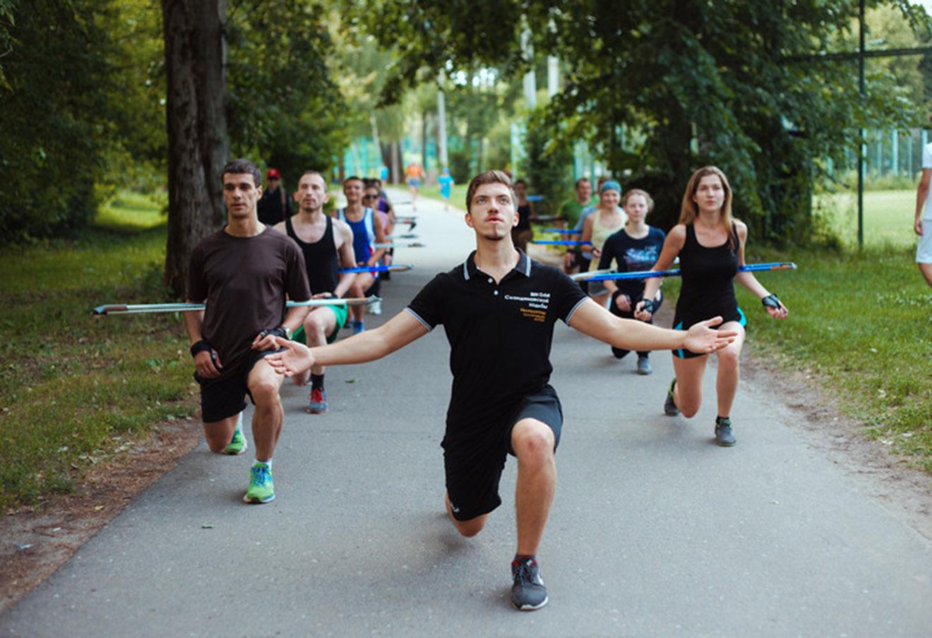 Фотография из серии материалов RUN FOR FUN на сайте morsmagazine.ru.