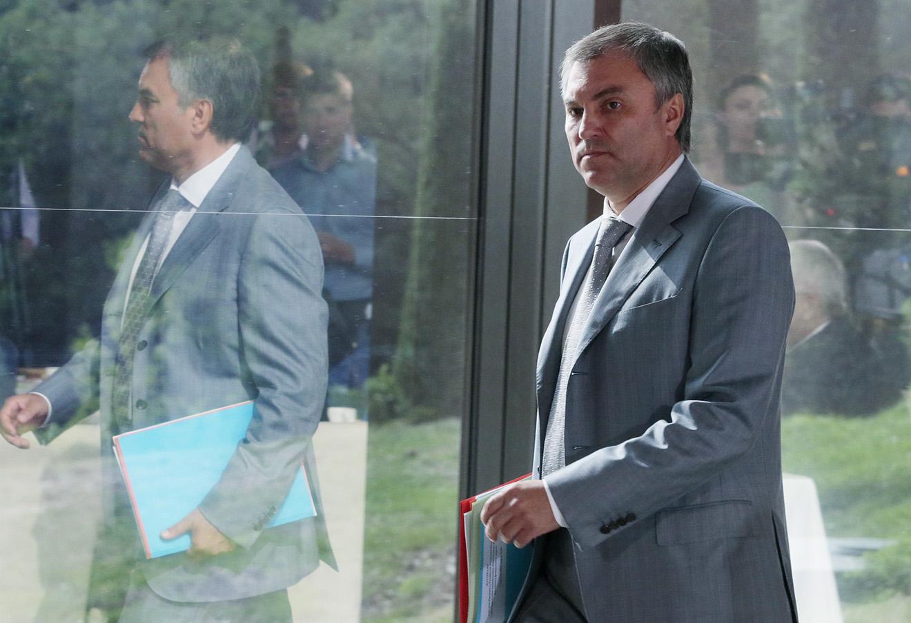 Вячеслав Володин. Фото: Михаил Метцель / ТАСС