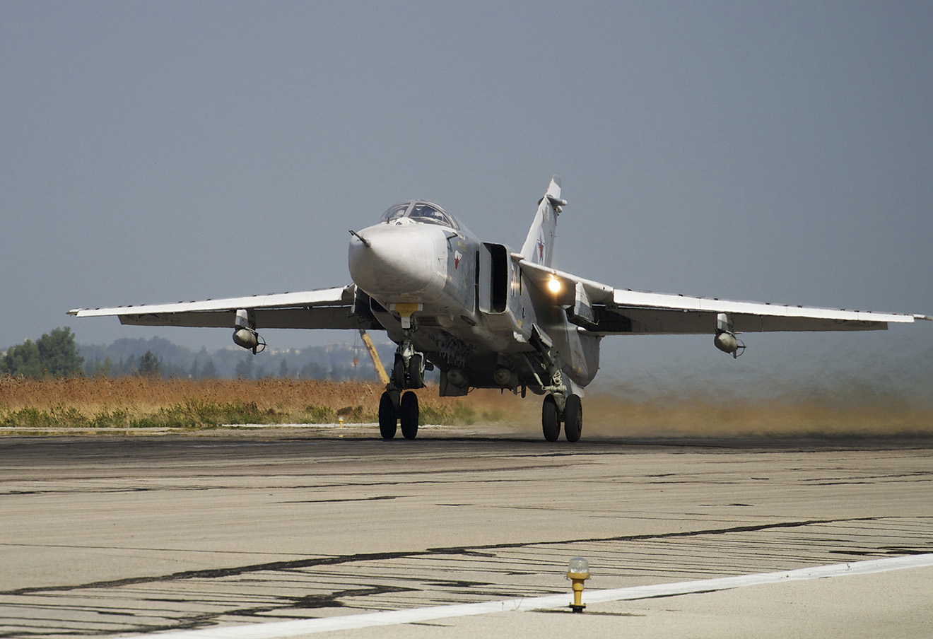 Российский Су-24.