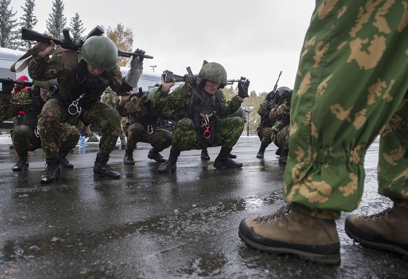 Национальная гвардия. Фото: Кирилл Кухмарь / ТАСС