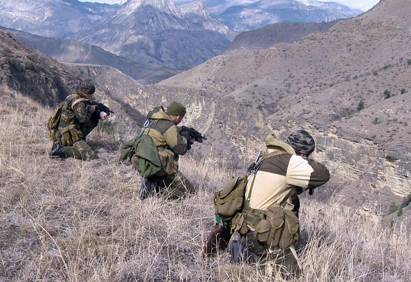 Во время контртеррористической операции (КТО), который был введен в Хунзахском и Ботлихском районах Дагестана в марте 2016 года.