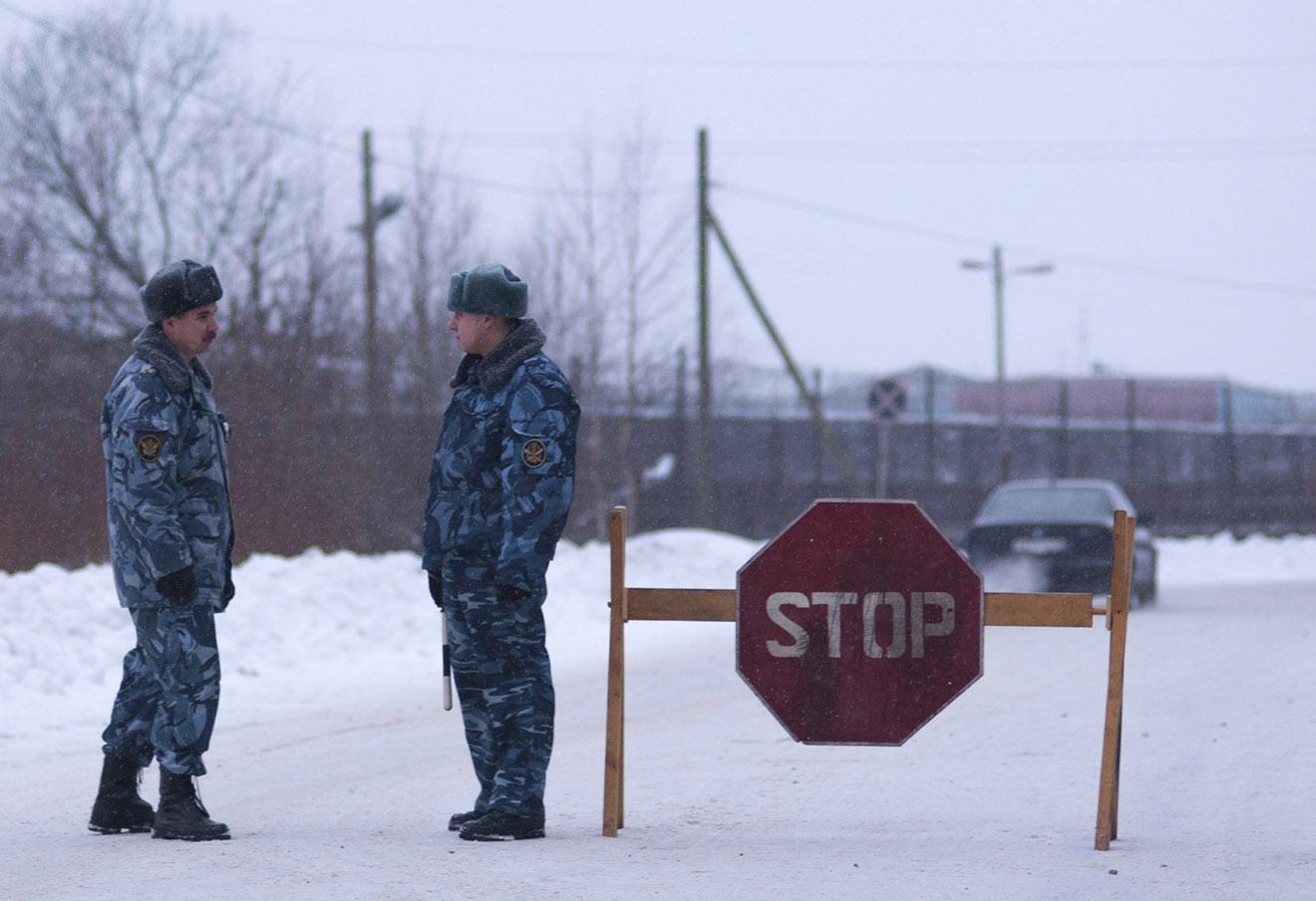 ИК-7 в Сегеже, где находился Михаил Ходорковский, 20 декабря 2013 года.