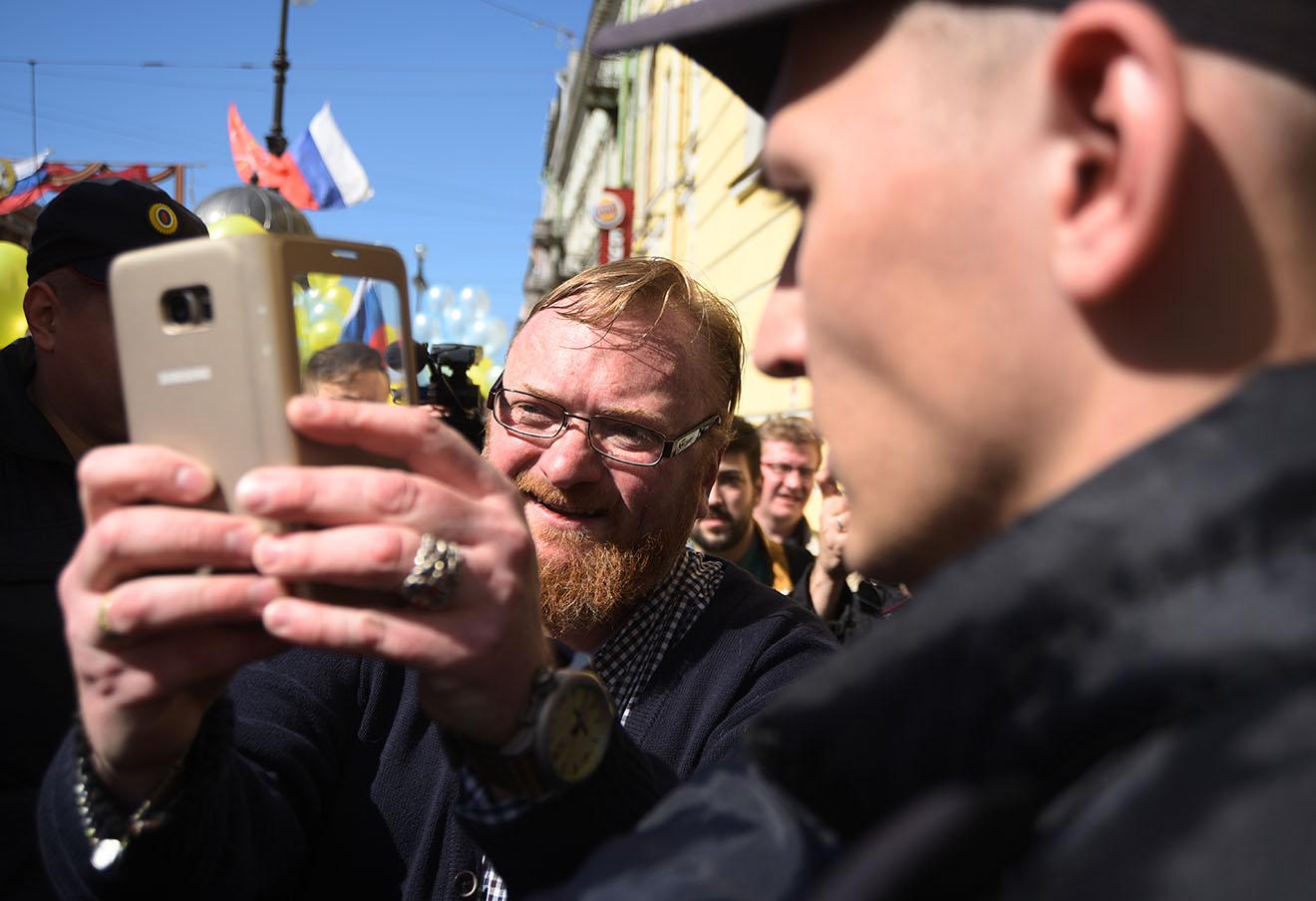 Виталий Милонов. Фото: Сергей Николаев / Интерпресс / ТАСС