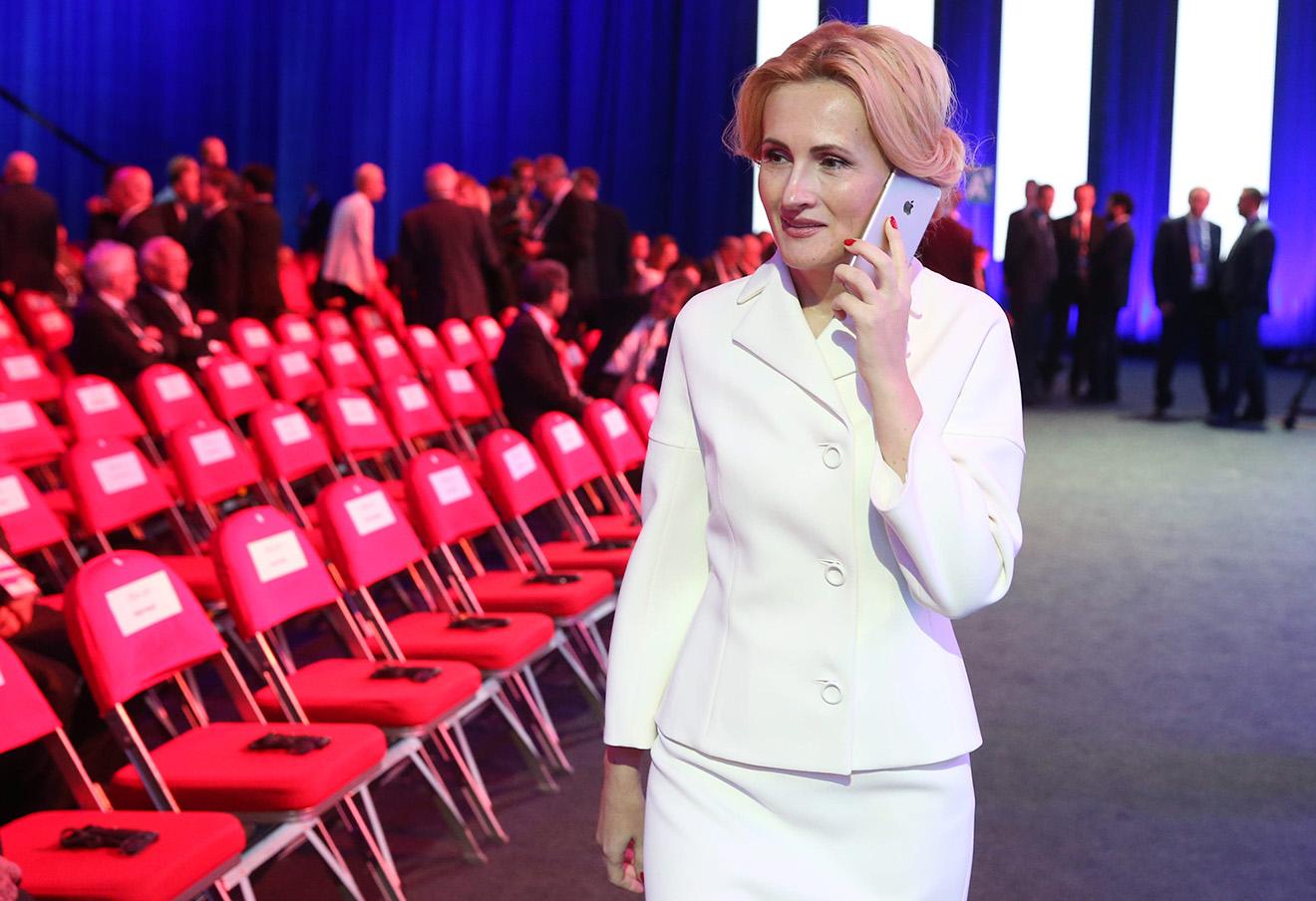 Ирина Яровая. Фото: Артем Коротаев / фотохост-агентство ТАСС