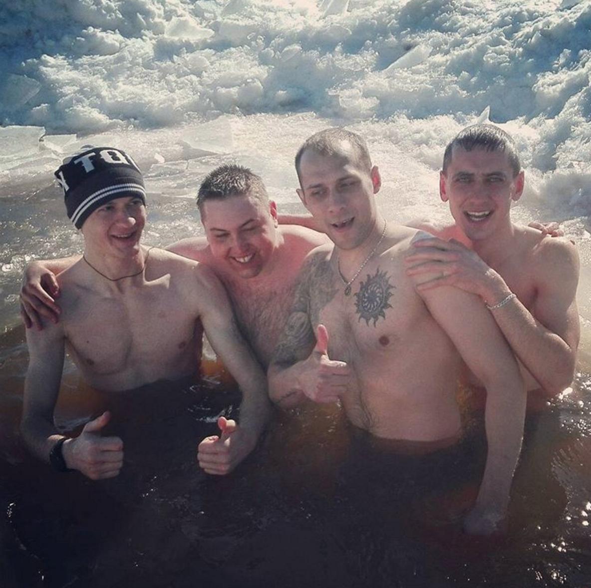 Активисты «Русского духа». Фото: Денис Ханьжин / Instagram