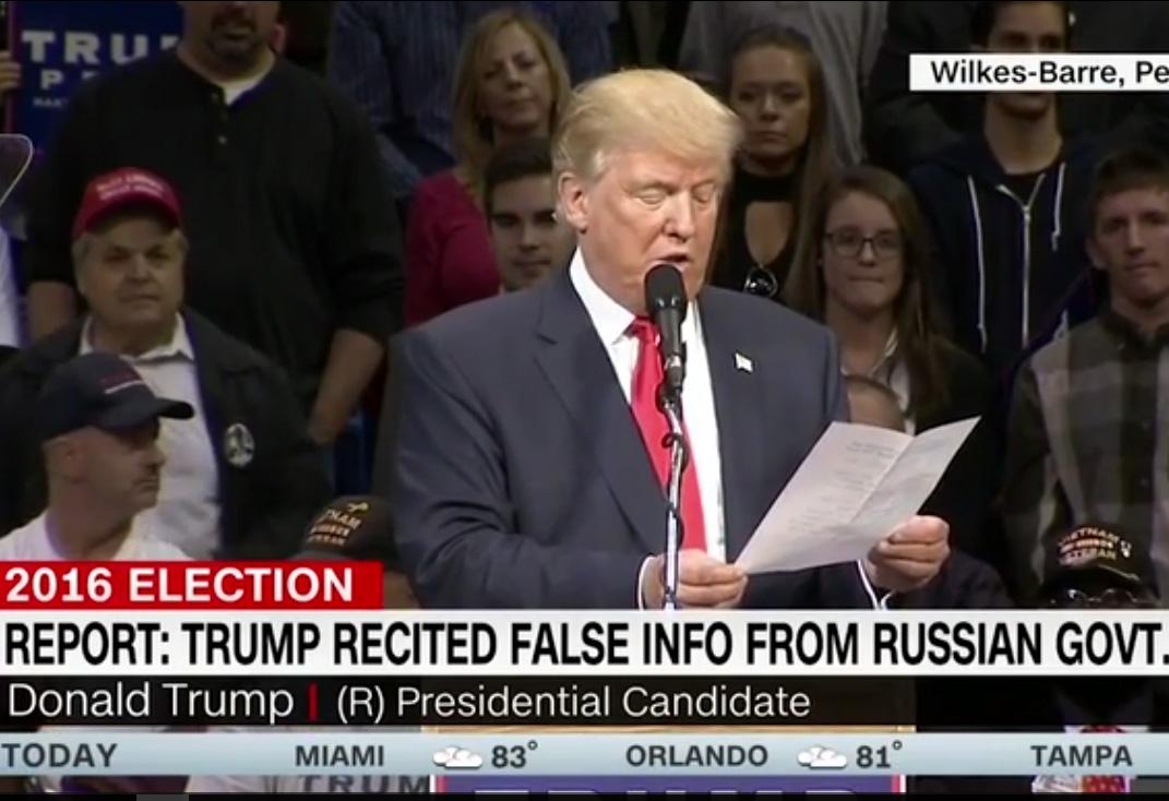 Кадр: телеканал CNN