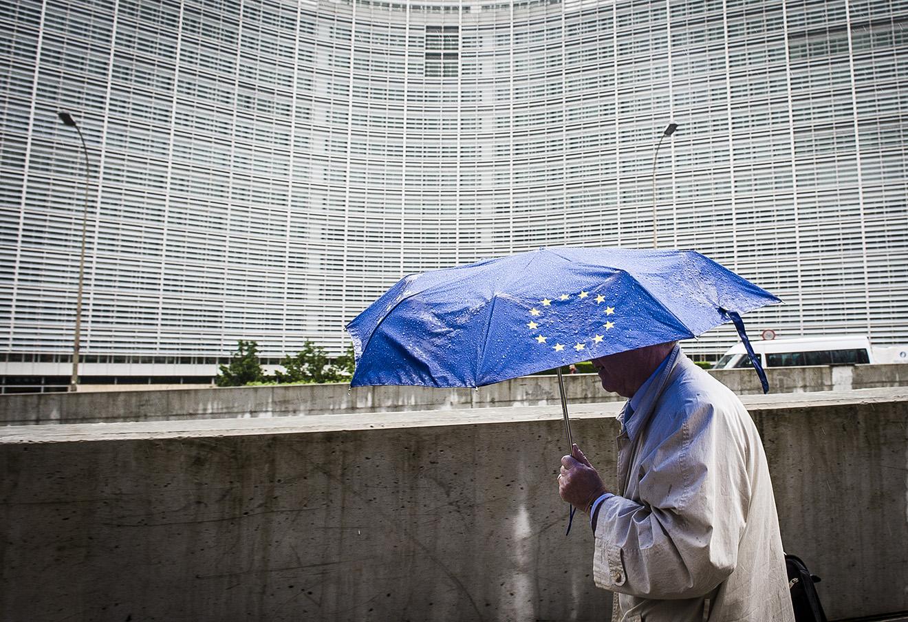 Здание Европейского парламента в Брюсселе. Фото: Wiktor Dabkowski / ТАСС