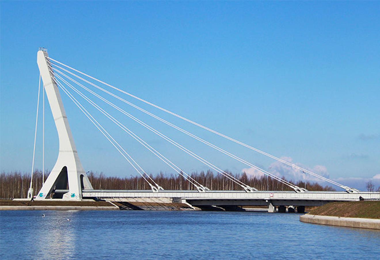 Мост через Дудергофский канал.