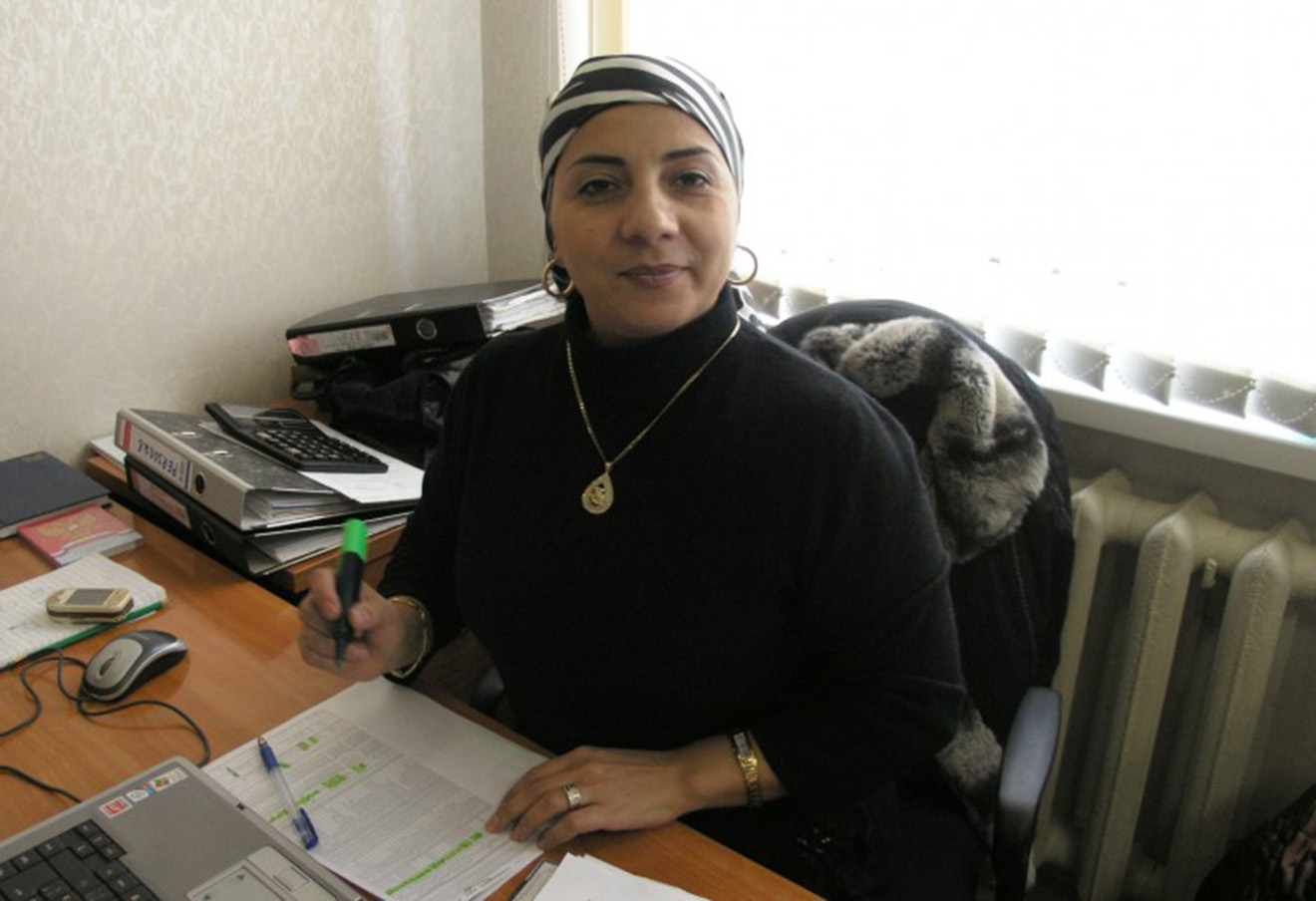 Зарема Гайсанова.